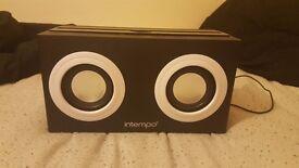 Intempo boom box speaker