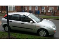 Ford focus lx 1.6 2000. 11 months mot. good condition.