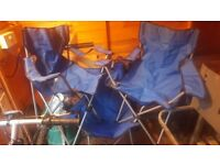 Folding camping / festival / garden / fishing chairs - 3 LEFT!!