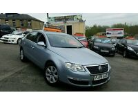 2006 VW PASSAT 2.0 TDI SE 140 5 DOOR SALOON 6 SPEED MANUAL