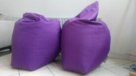 2 x Big Bertha Highback Bean Bags