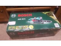 Brand new boschh electric chainsaw