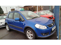 Car Finance Specialist Suzuki SX4