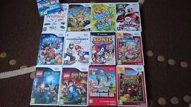 Bundle of 13 Nintendo Wii games