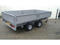 10x5 ifor williams dropside trailer in very good condition