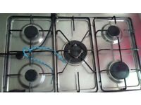 Stailess steel 6 ring cooker