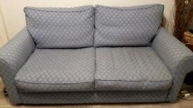 Large blue sofa vgc - quick sale needed