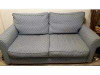 Large blue sofa vgc - quick sale needed