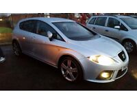 2006 [56] SEAT LEON FR 2.0 TDI FULL LEATHER FR BUCKET SEATS - NEW TIMING BELT - CLUTCH AND FLYWHEEL
