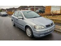 2001 Vauxhall Astra 1.6, only 62,000 miles with full service history!
