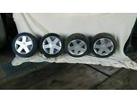 Ford alloys wheels