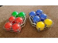 Game French bowls 12 balls great fun