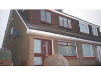 To Rent - Kirkintilloch 3 bedroom semi-detached in Rosebank Area
