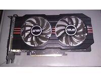 Asus AMD Radeon HD 7700 2GB GDDR5 Dual DVI HDMI PCI-E Graphics/Video Card