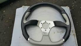 Khan steering wheel
