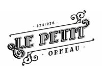 Full-time/Part-time Chef required for Cafe Le Petit