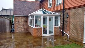 Self-Build Conservatory (2.9 x 2.9m) - Dismantled & labelled, ready for collection