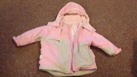 Girls 12-18month coats - various