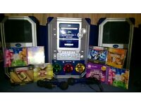 POP IDOL KL1 KARAOKE SYSTEM - EXCELLENT CONDITION FULL WORKING ORDER WITH FLASHING LIGHTS