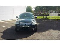 VW Toureg V6 TDI Sport A Estate Black, Full service History, Annual Service with 1 year MOT