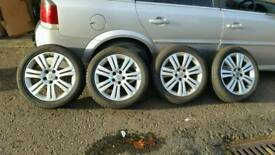Vectra C alloy wheels with winter tyres