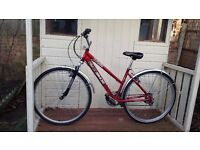 """DAWES Tourismo 20SIX Ladies 19"""" hybrid bike 21 gears and 700 wheels excellent condition"""
