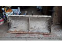 MINI DIGGER 3FT DITCHING BUCKETS * CHOICE OF TWO* 25MM /30MM PINS