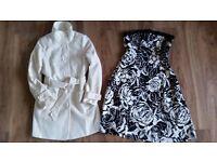 Ladies coast dress and smart jacket size 12/14