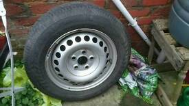 Spare wheel for VW T5