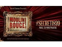 Secret Cinema presents Moulin Rouge ... April 29th... 4x TICKETS!... Children of the Revolution