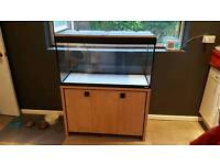 Fluval Roma 200 tank & stand