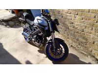 Yamaha MT 125 Motorbike/ Motorcycle