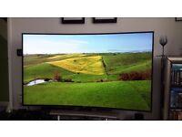 "Samsung UE65HU8500 65"" Curved UHD 4K 3D TV"
