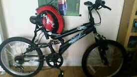 "Muddyfox tornado kids bike 20"" wheels 5-8yrs"
