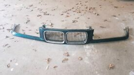 E36 bmw front panel and kidney grills