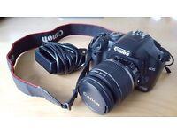 Canon 450D + EFS 18-55m lens + charger VERY GOOD CONDITION