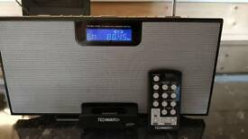 Technika portable Stereo FM radio with Ipod dock