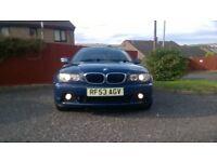 BMW 318CI SE FACELIFT 2004 FSH CREAM LEATHERS BARGAIN!!