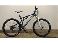"Boardman FS Team 650b mountain bike, size M (18"" frame)"