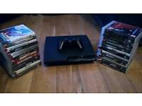 Ps3 slim with 28 games