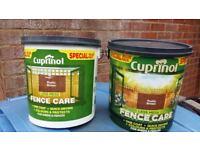 Cuprinol Fence Care - Rustic Brown