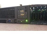 HPE ProLiant DL380 G5 Base Server - Intel Xeon 3GHz - No RAM - No HDD
