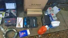 Wheel refurbishing equipment. Spray gun Sanders infrared lamp