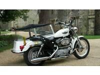 Harley Davidson 1200 sportster/watsonian outfit