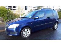 Skoda Roomster MPV 1.2 tsi SE 2010 9 months MOT, 85,600 miles. Full Service history, reliable, clean