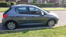 2008 Peugeot 207 1.4 Diesel 5dr for sale, one year TAX.cheap TAX road - £30 per year.