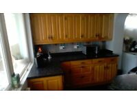 Kitchen Units with Solid Oak Doors