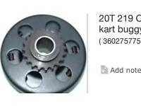 20 mm centrifugal clutch