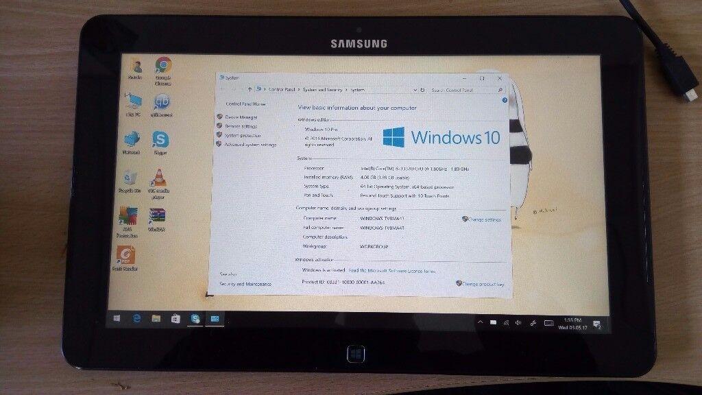 Samsung ATIV SmartPC Pro XE700T1C I5 SSD Laptop/Tablet for sale