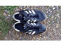 Adidas trainers, size 9.